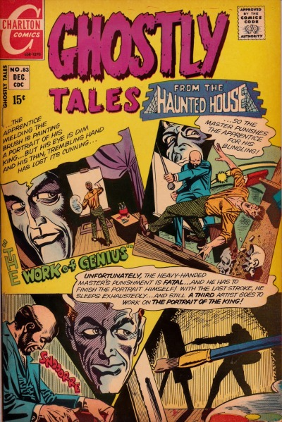 Ghostly Tales #83 - Charlton Comics, December, 1970