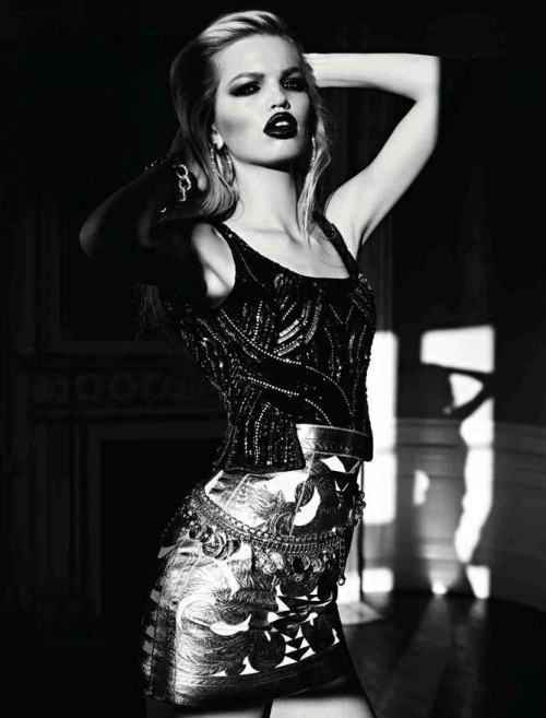Daphne Groeneveld By Hedi Slimane For Vogue Russia | April 2012