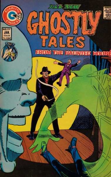 Ghostly Tales #109 - Charlton Comics, January, 1974