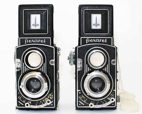 My history of Czech TLRs part 9: The Flexaret V and Va The V and Va are, in my opinion, the most handsome of all the Flexarets. The weird (but loveable) release lever of the IV/IVa has become a smart, threaded push button and the front standard is a delightful piece of 50s modernism. The camera front has a well structured asymmetry introduced by the flash connector opposite the release/shutter lock (yes, a shutter lock, just what one needs with a push button release). The double anchor focus has a built in depth of field scale and again adds a boost to the camera's aesthetics. My V has a Prontor SVS shutter. Now I am not a fan of the Prontors but this one has been solid enough, though it tops out at 300. It also has EV settings which sync the shutter speed and aperture. I use this with my Voigtlander Vitessa and Hasselblad and really like the feature. The Va with a Metax shutter does not have this. In addition to their good looks the V and Va also introduce coupled wind/shutter cocking for the first time on a Czech TLR. It is said on the interwebs that this can make them a little unreliable. I have not had that problem with any of my Flexarets but, as usual YMMV. It does make winding these things an adventure in hand muscle development. Apparently the V is rather uncommon whereas there are a lot of Vas around. The only definitive way to tell them apart is that the V does not have a 35mm rewind knob (just like the IVa). You should be able to pick up a clean, working Va for well under $100. The V and Va are the last Flexaret to use the 30mm push-on filters and hoods. These are much easier to find than the B36 filters and hoods used by later models (which are not bay 1 no matter what you might read elsewhere). So if these things are important to you (and you really should use a lens hood, the Belars flair) then a Va is the one to go with. If you must shoot 35mm with your Flexaret get a Va because it is the one with a rewind knob: but if you must shoot 35mm with your Flexaret you are a nutter. Even a Praktica MTL will give you a better 35mm experience. Actually even a Zenit will give you a better 35mm experience, and they are shite.