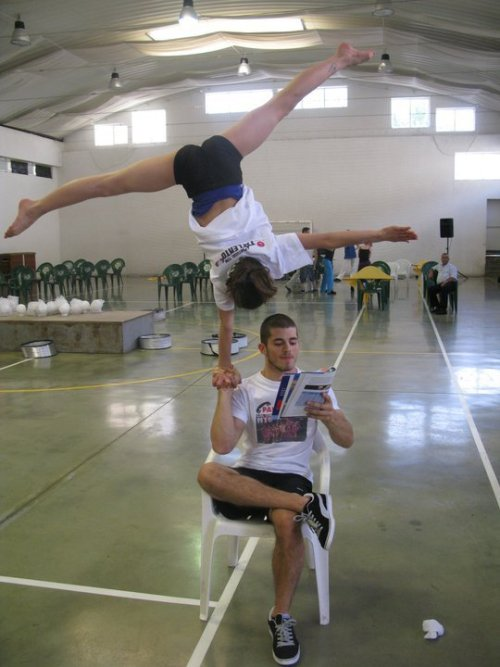 tumble-flip-split:  just casually!
