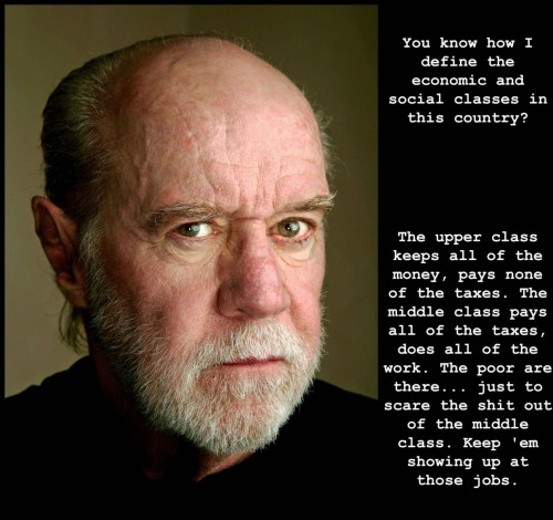 nefariousnewt:   —George Carlin  Unvarnished truth.
