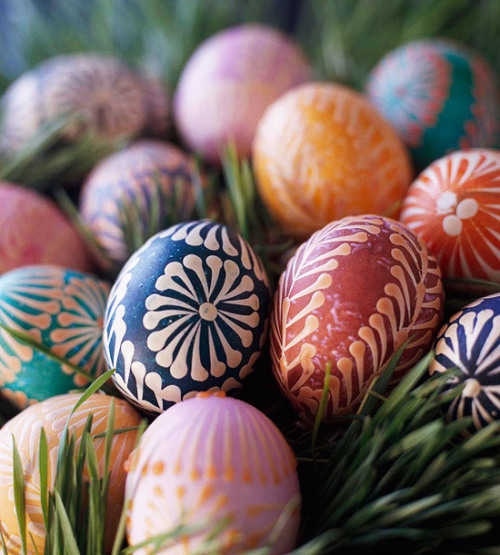 tutorial: beautiful eggs via Better Homes & Gardens