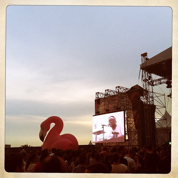 My stage! Flamingoooooooooo #fmfa2012 #fmfa #all_shots  (Taken with instagram)
