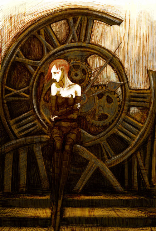 steampunkd:  Beside you in time.. by ~NicoSaba