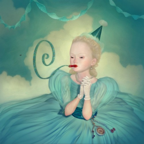 Anniversaire - digital painting by Ray Caesar