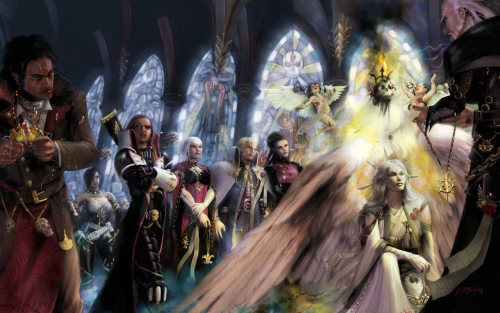 Sanctification of Celestine, the Living SaintI don't know who made this exquisite art work but I absolutely love it. If anyone knows who made it, can you link me to any of their other art?