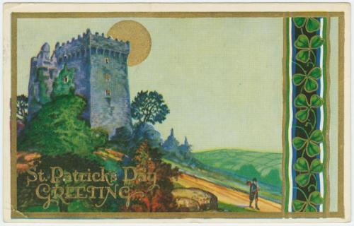As our final St. Patrick's Day postcard post of the day, here is a truly beautiful card from 1932, currently in our Mid-Manhattan Picture Collection. Enjoy!