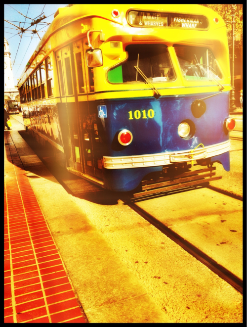 heatherlazare:  Muni, San Francisco.