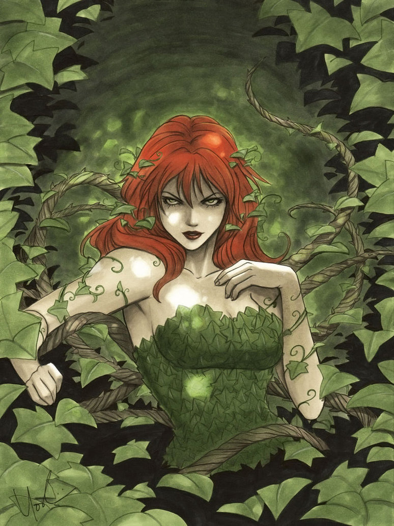 all-about-villains:  Poison Ivy : By Lynne Yoshii / Website / Blog