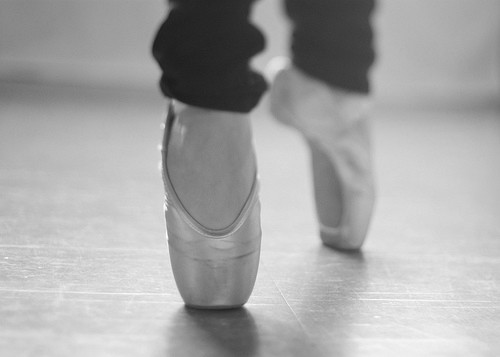 I wish I'd continued ballet until pointe :(