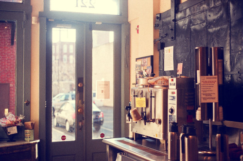 Coffee shop in Philly…35mm
