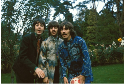 Paul: No, guys, do it like me. See, this is enthuasiasm. Ok let's try this one more time, with feeling.