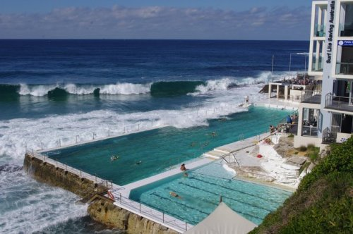 (via Fancy - Bondi Icebergs Club Pool @ Australia)