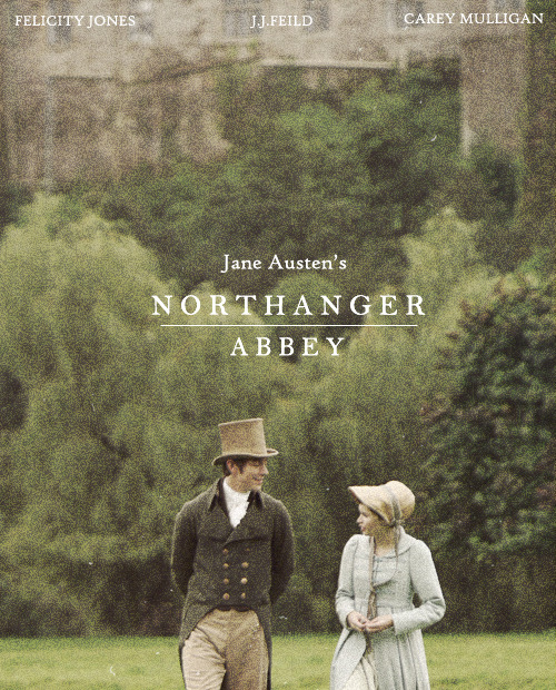 poster remake | Northanger Abbey (2007)