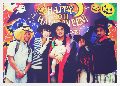The Marqueses Kids.. And kids Halloween.. Japan