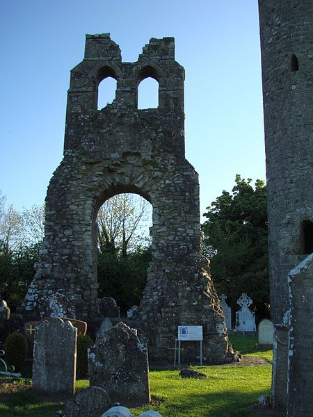 caravaggista:  Photograph of remains of Donaghmore church, Navan, Co Meath, Republic of Ireland