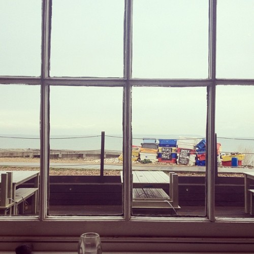 Oysters for lunch. (Taken with Instagram at Whitstable Oyster Company)