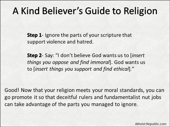 christiantheatheist:  The problem with peaceful, kind, religious people promoting their holy texts, is that they're still promoting their holy texts.