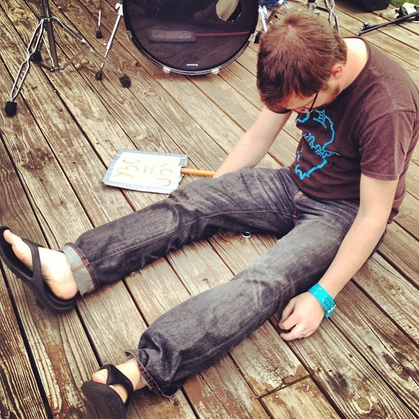 #sxsw #ybcmusic #bradying (Taken with instagram)