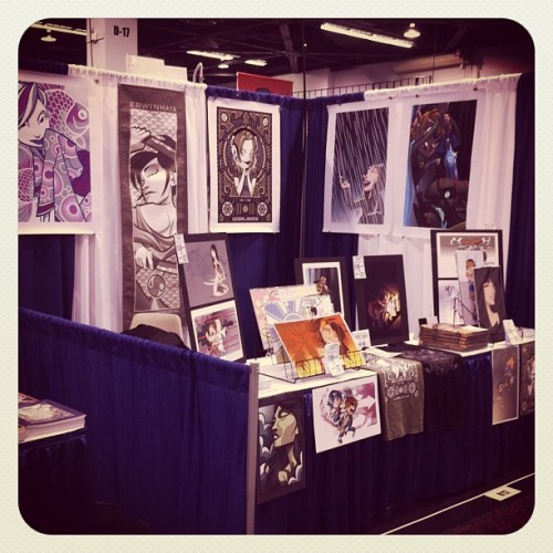 #Wondercon Day 2. Catch me @ Booth 812! (Taken with Instagram at Anaheim Convention Center)