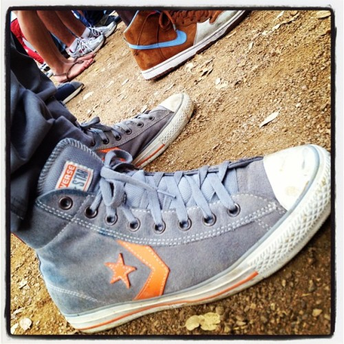 #converse #stubbs #santigold #spinmag #texas #austin #sxsw #music #bbq (Taken with Instagram at SPINShed)