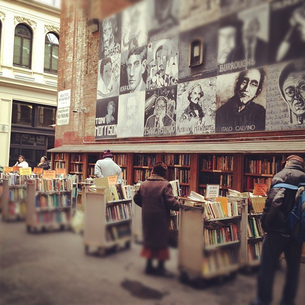 Outdoor book store (Taken with instagram)