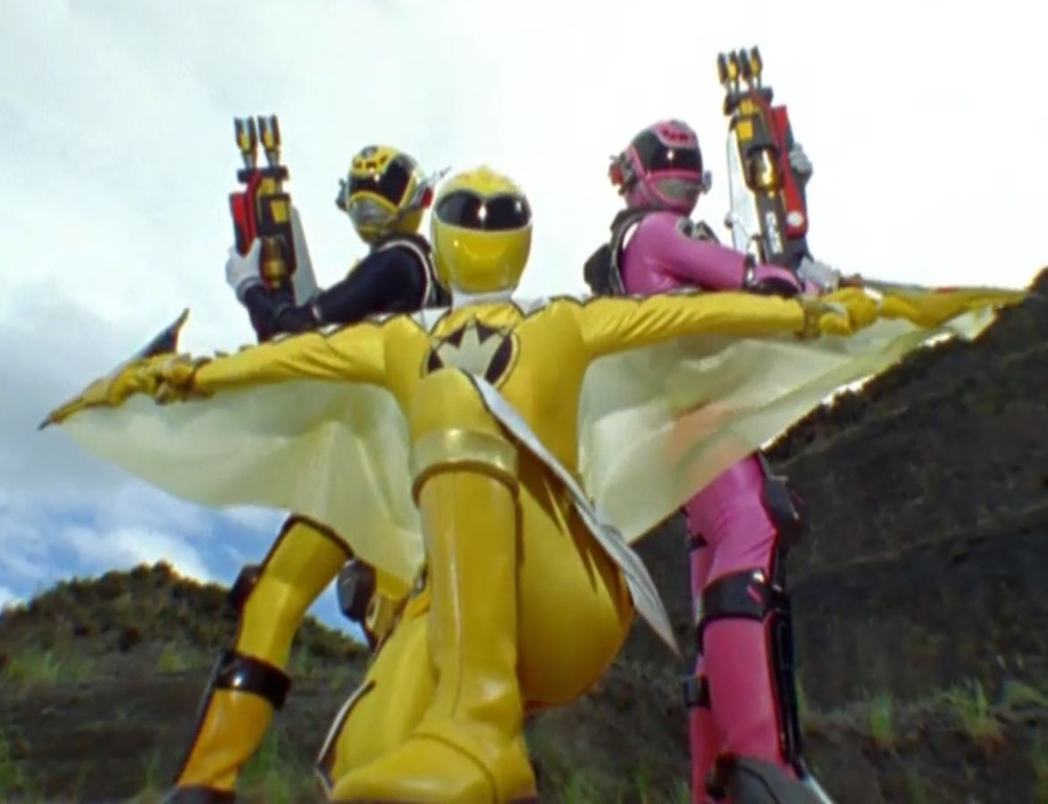 women power rangers nudity