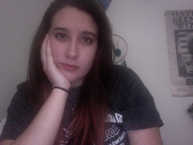 "this is my, ""bored, waiting for Toria to be done being science-y so we can go to the lake"" face"