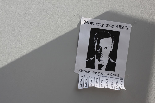 Moriarty was real.