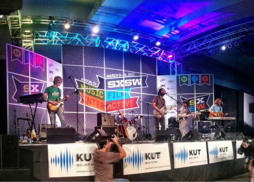 ibubuti:  Blitzen Trapper at the Radio Day Stage at SXSW