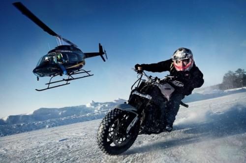 Jorian Ponomareff dá Show de Drift no Gelo