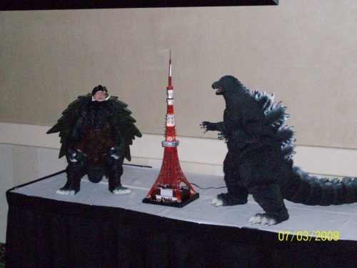 G-Fest 2009 Well Done Gamera and Godzilla Models
