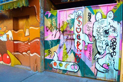The vibrant graffiti of Kensington Market