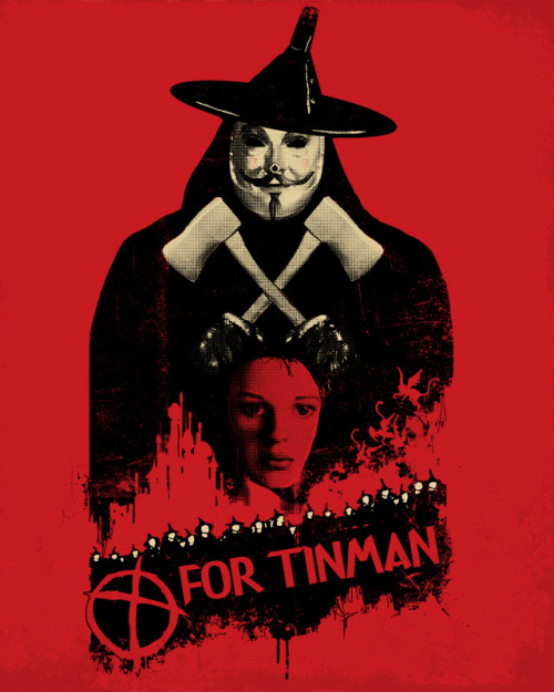 T For Tinman Print For Sale @ Society6