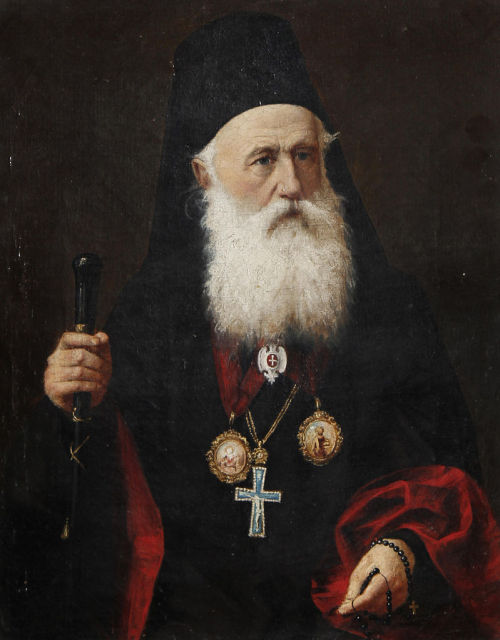 missfolly:  Portrait of a Patriarch, by an unattributed artist, (19th century)