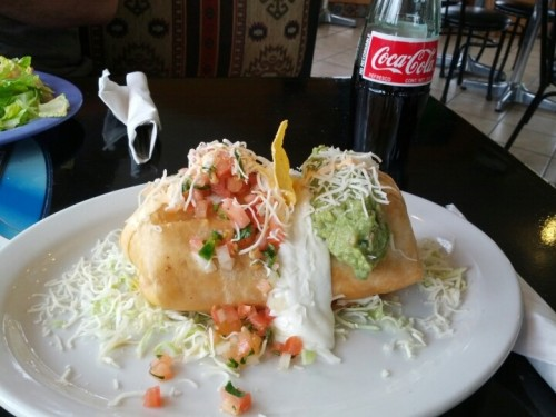 Red Snapper chimichanga! (Photo by arkansasazn)