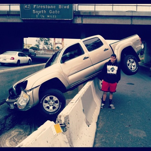 Front side board sliding like a boss (Taken with instagram)