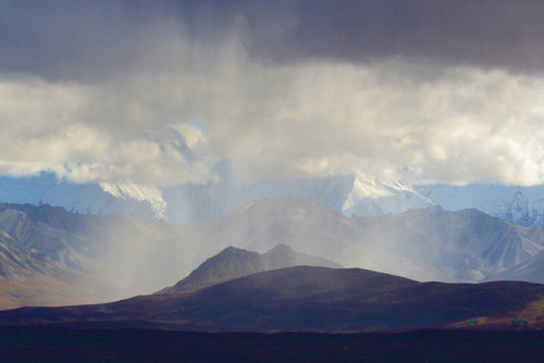 Denali Rainshower - Alaska -  Mountains by blmiers2 on Flickr.