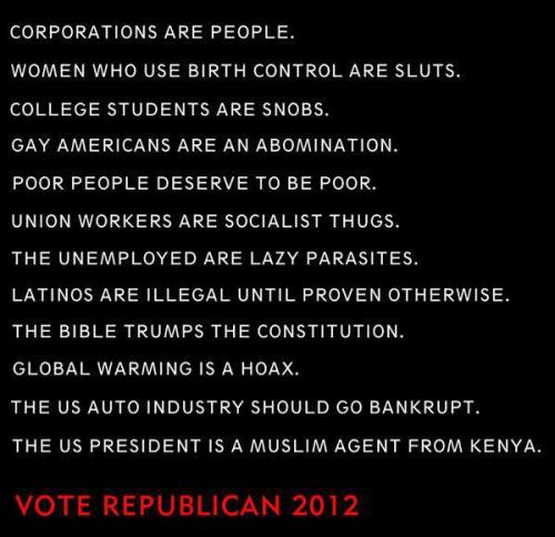 capitalismaintsogreat:  Vote Republican!
