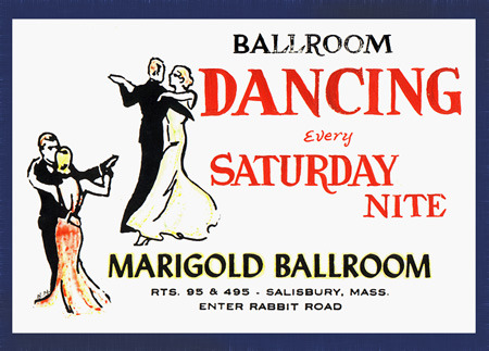 Vintage Ballroom Dance Advertisement