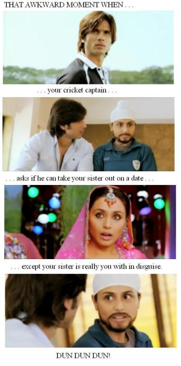 Actually, I see no problem with this :D (Inspired by AwkwardBollywood)