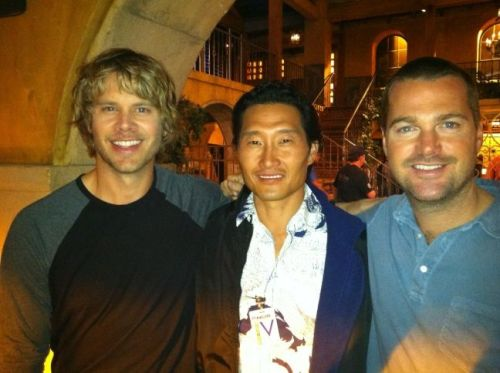 danieldaekim    1last pic from such a fun week at #NCISLA. Thx @chrisodonnell @ericcolsen @DanielaRuah @llcoolj & the gang. Aloha! #H50