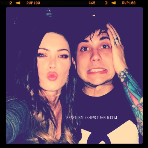 Megan Fox and Frank Iero