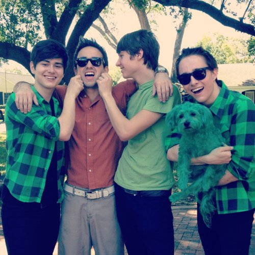 "keepcalmandsayxoxo:  ""Happy St. Patricks Day everyone!! Make sure you pinch anyone who isn't wearing green!"" — Before You Exit"