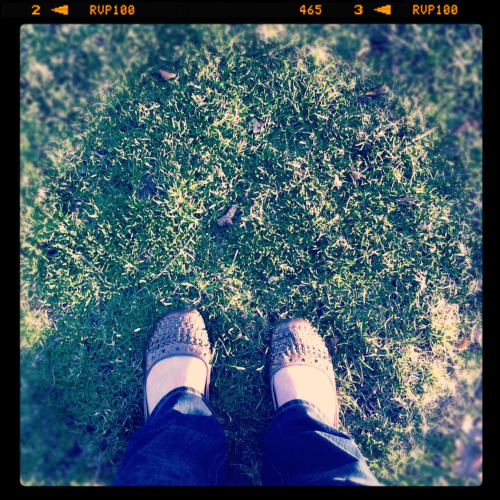 Ah, the first sun on these feet in five months, give or take.