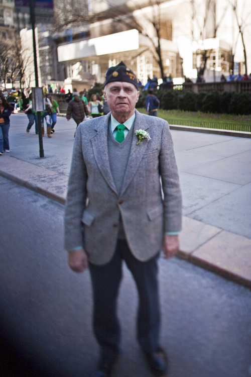 St. Patrick's Day Parade, New York City, 2010.