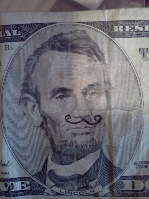THE MUSTACHED EMANCIPATOR!