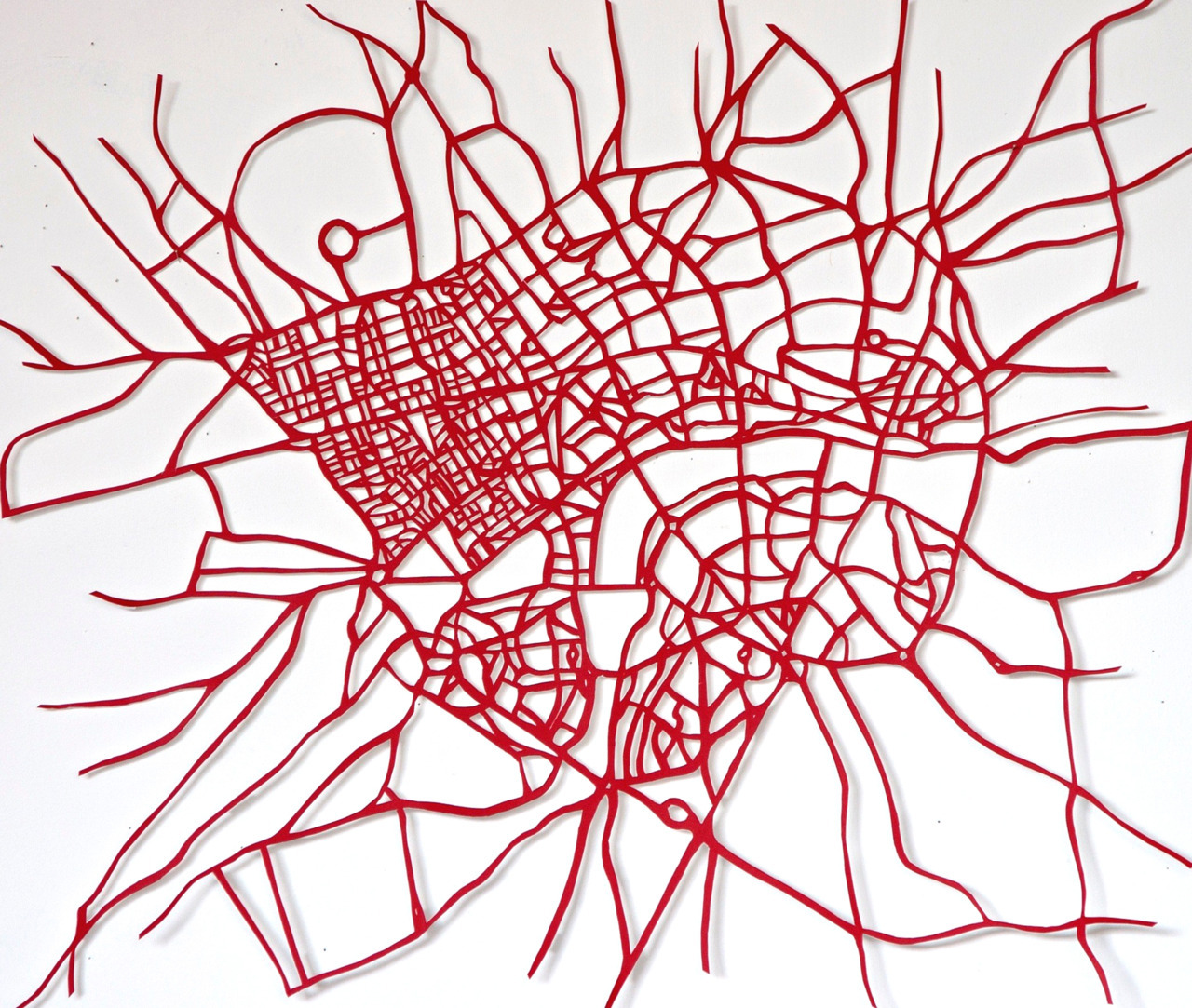 Red Road Arteries - Susan Stockwell