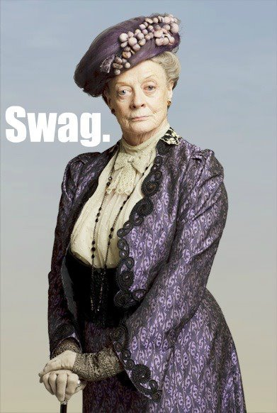 The Right Honorable Violet Crawley, Countess of Grantham